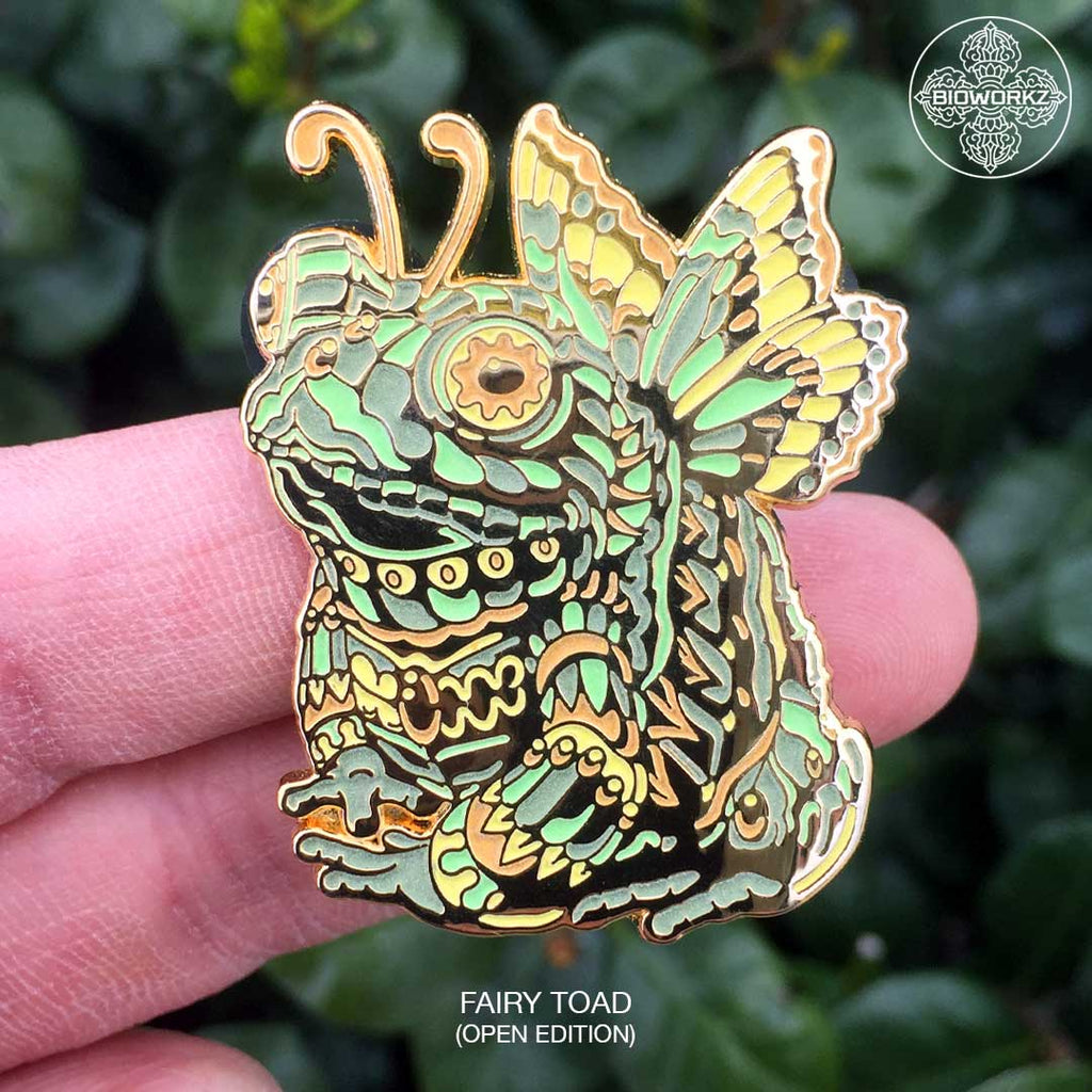 Fairy Toad Pin