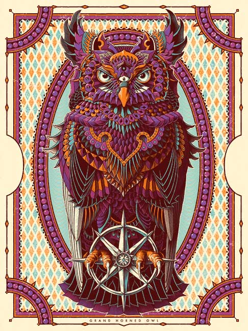 Grand Horned Owl (Edition of 100)