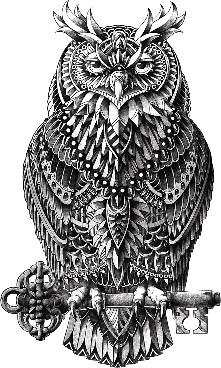 Great Horned Owl Sticker