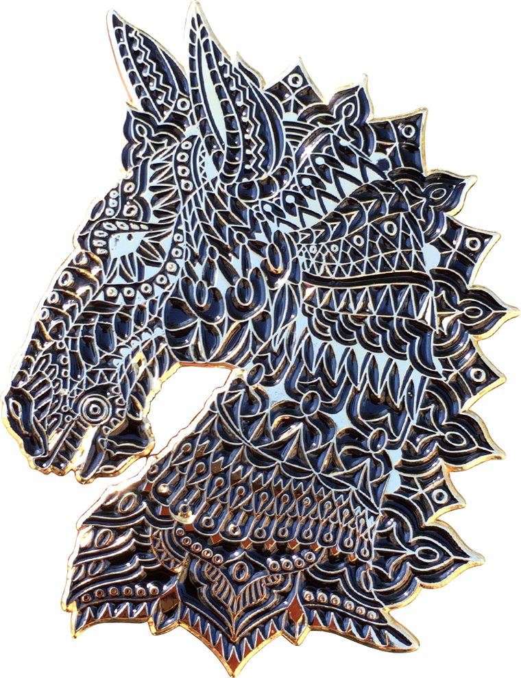 Dark Horse Pin (Open Edition)