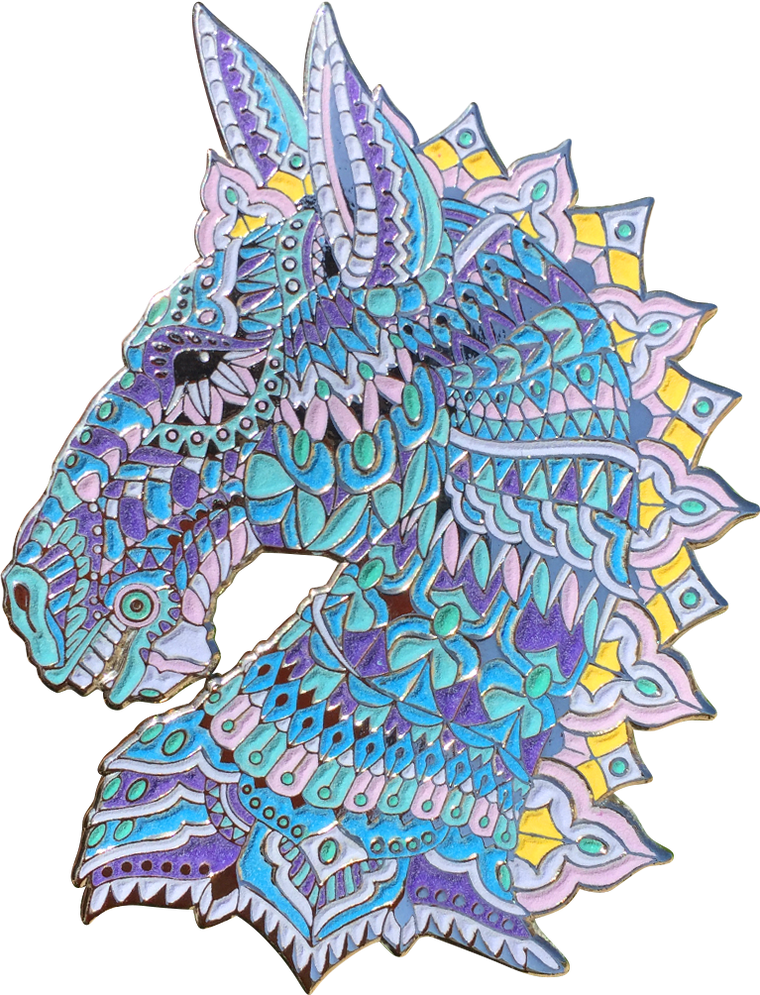 Nebula Horse Pin (Open Edition)