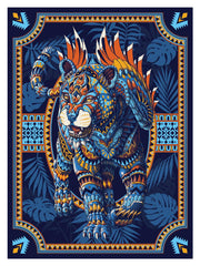 Jaguar Blue Variant Print (Edition of 13)