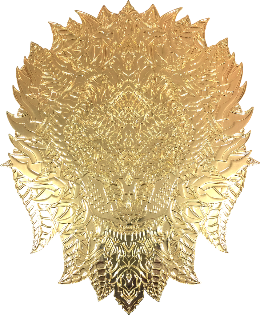 King of the Jungle (Raw Gold Metal)