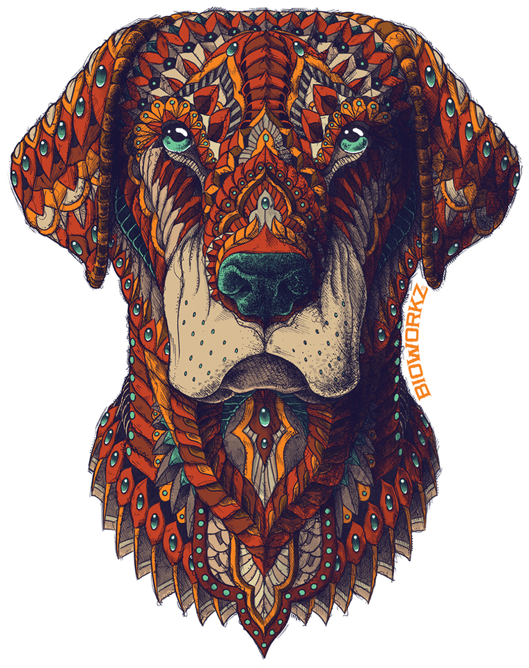 Labrador Sticker
