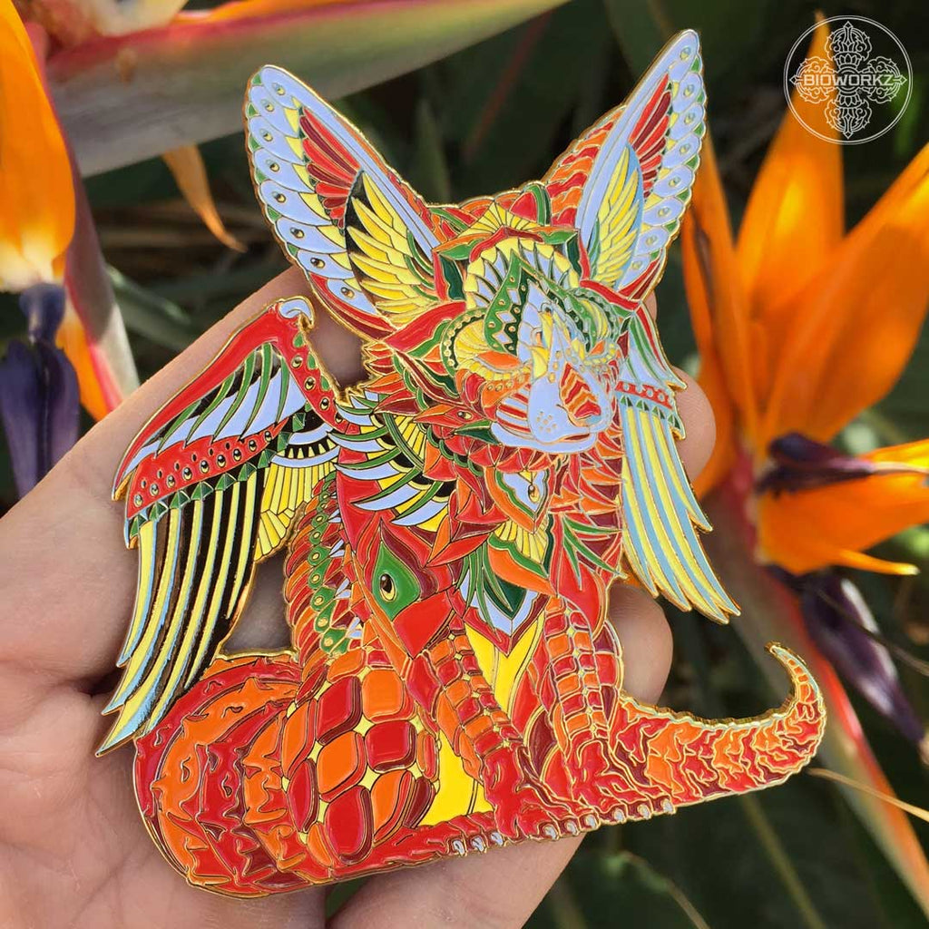 Mars Fox Pin (Edition of 75)