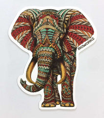 Ornate Elephant Magnet
