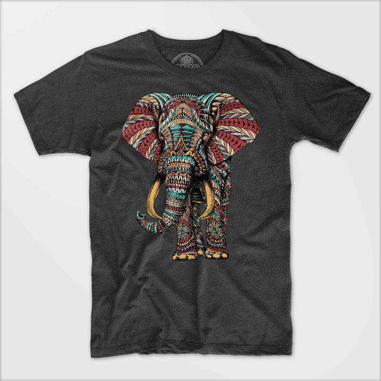 Ornate Elephant Tee
