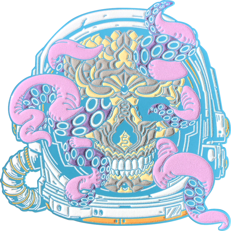 Pastel Space Skull (Edition of 60)