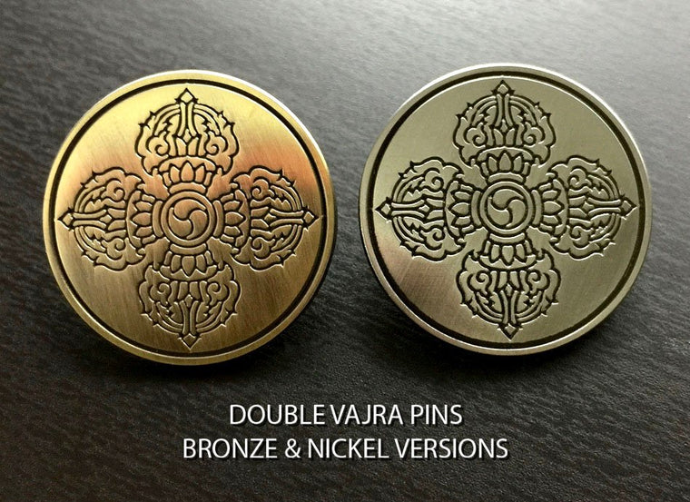 Pins - Double Vajra (2 Pins)
