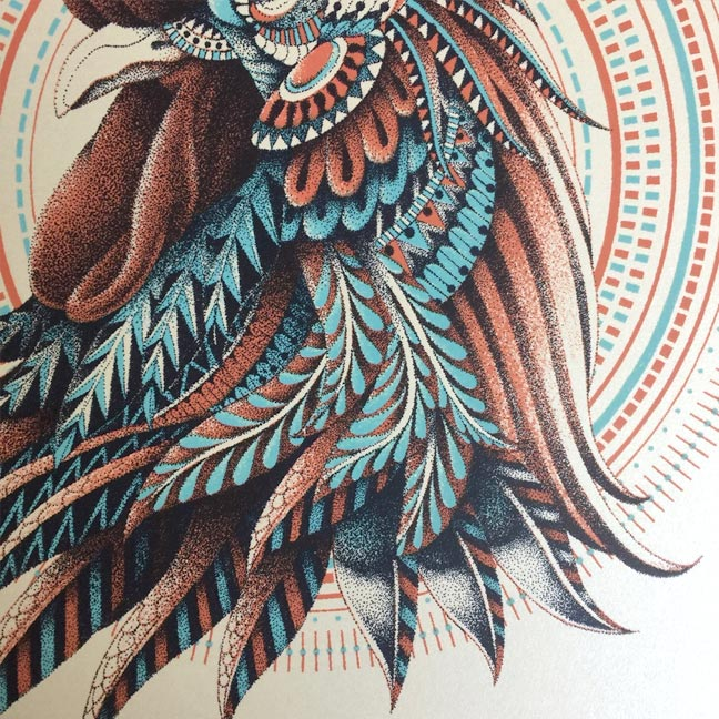 Ornate Rooster (Edition of 200)