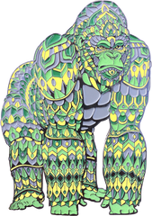 Rainforest Gorilla Pin (Edition of 35)