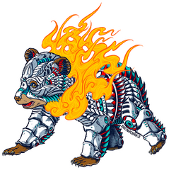 RoboCub Sticker
