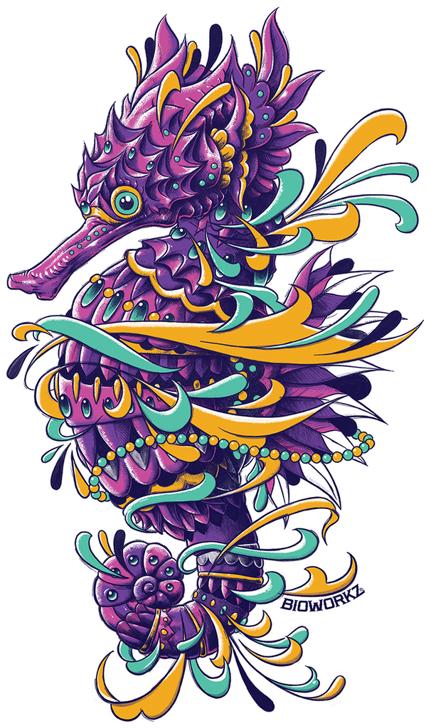 Seadragon Sticker