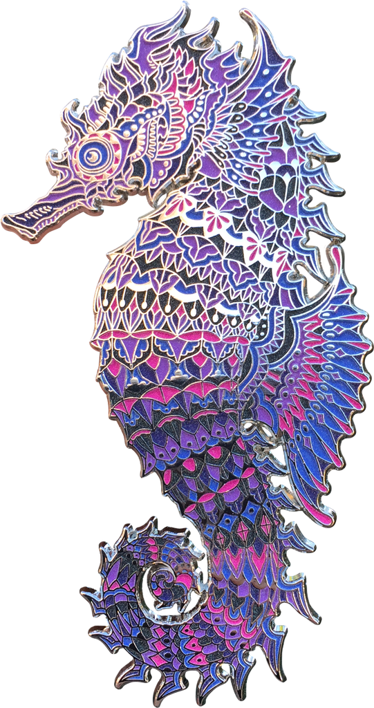 Abyss Seahorse Pin (Edition of 25)