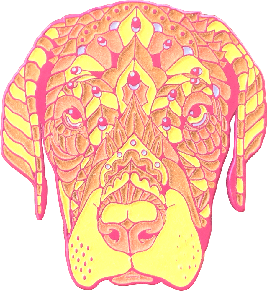 Starburst Dane Puppy Pin (Edition of 20)