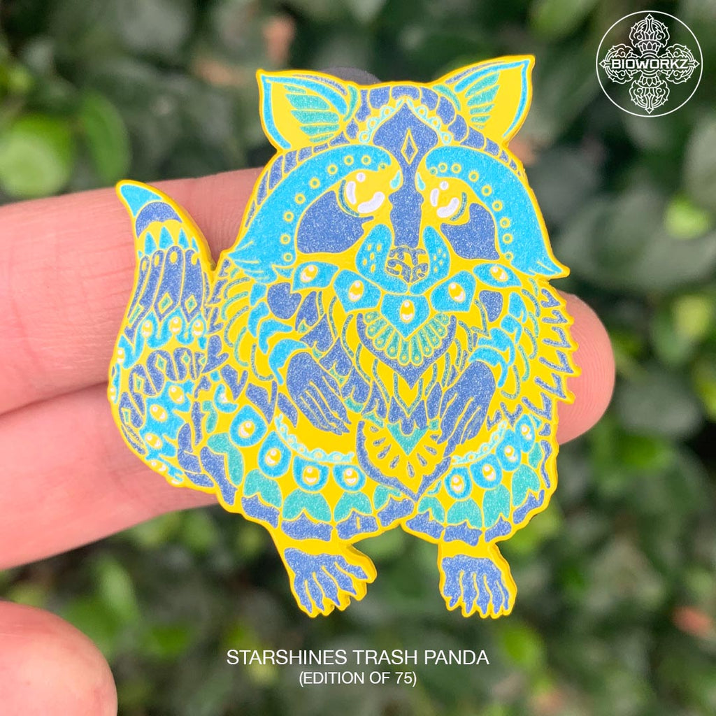 Starshines Trash Panda Pin (Edition of 75)
