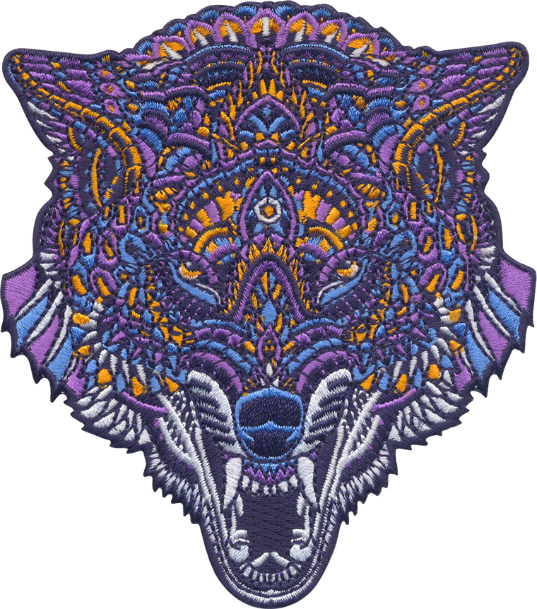 Venom Wolf (Embroidered Patch)