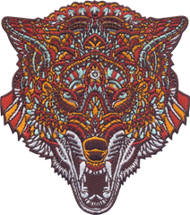 Wolf Head (Embroidered Patch)