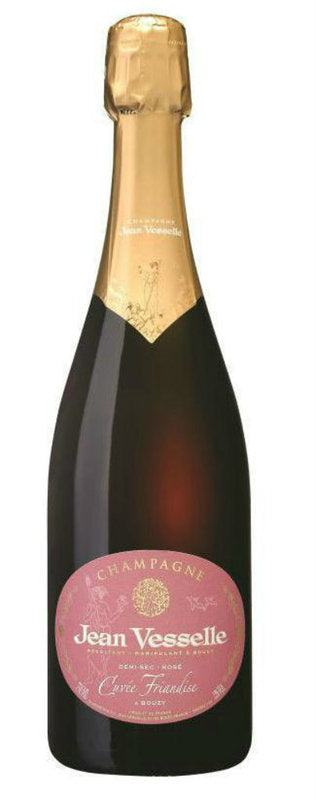 NV Domaine Jean Vesselle Demi-Sec Rose Cuvee Friandise 750ML
