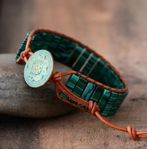 malachite-bracelet-adjustable-handmade-online-buy
