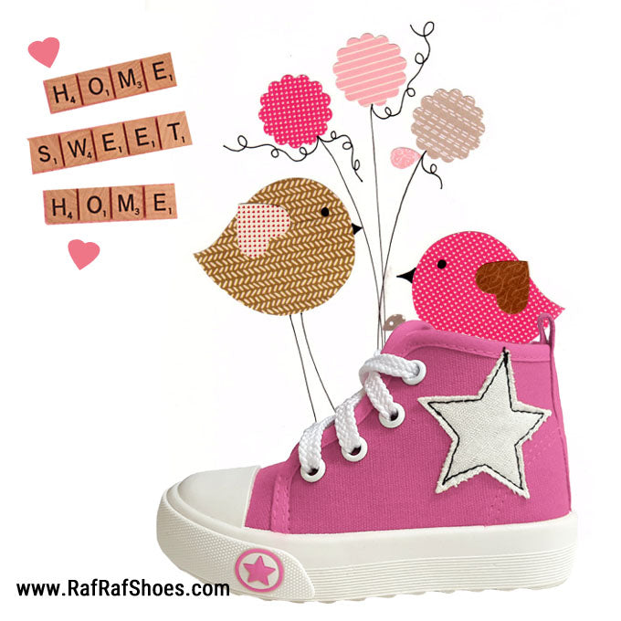 S137 Pink (1-3y) SG Most Comfortable Kids Shoes
