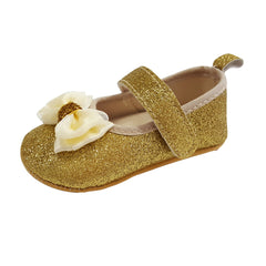 Isabella (Pre-Walker Shoes) - B104 Gold Glitter