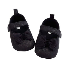 Isabella (Pre-Walker Baby Shoes) - B104 Black Glitter