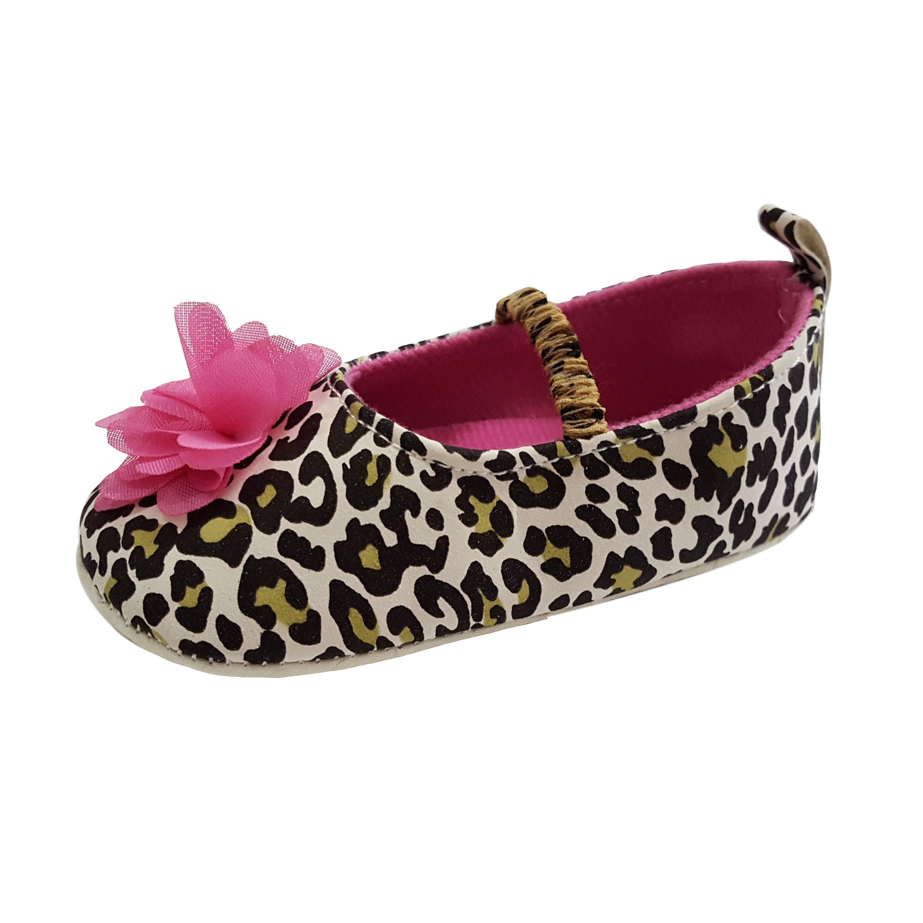 Phoebe (Pre-Walker Shoes) - B105 Leopard Print
