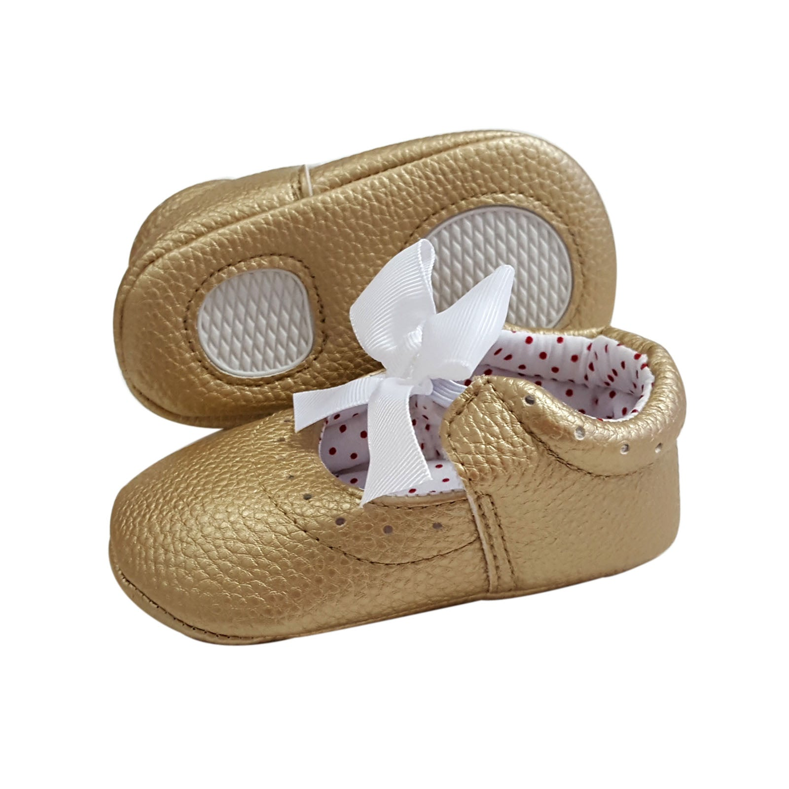 Magdalen (Pre-Walker Baby Shoes) - Gold Special Offer