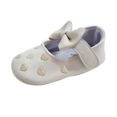 Millie (Pre-Walker Baby Shoes) - White Special Offer