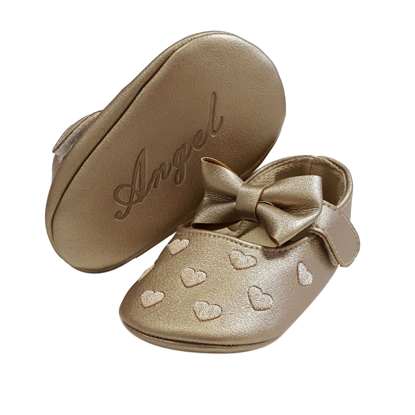 Millie (Pre-Walker Baby Shoes) - Gold Special Offer