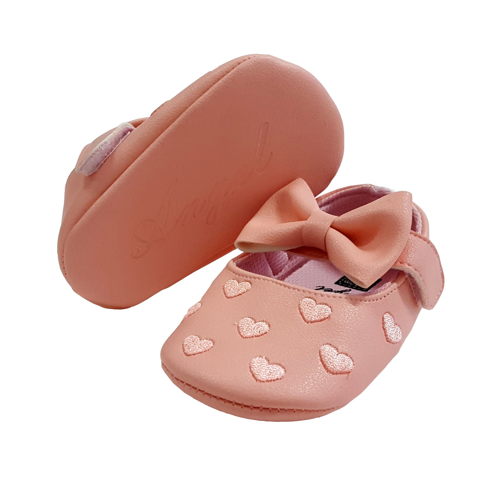 Millie (Pre-Walker Shoes) - B111 Pink Hearts