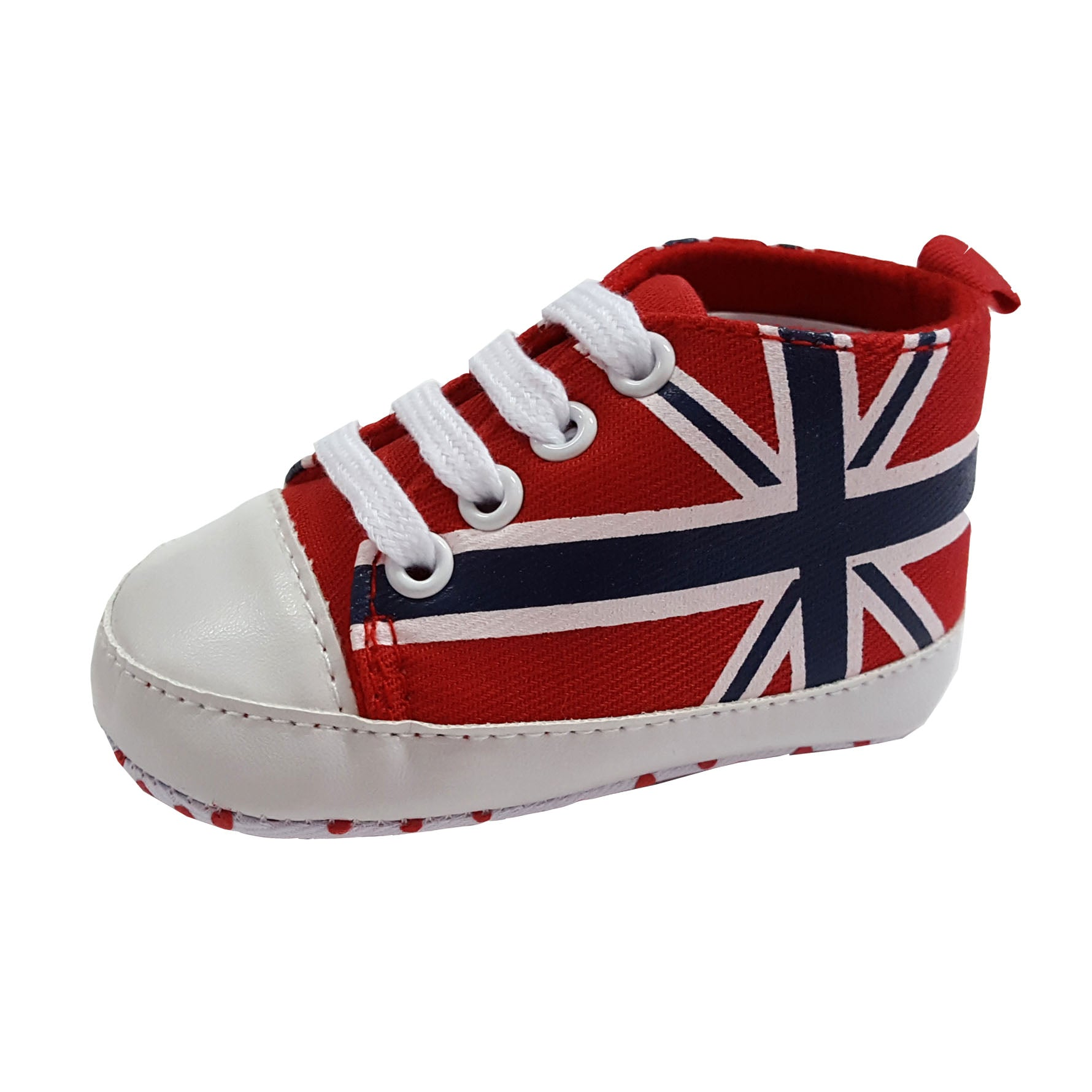 Colin (Pre-Walker Shoes) - B115 Red Union