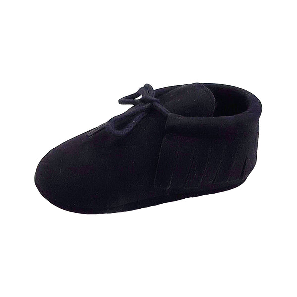 Piper (Pre-Walker Shoes) - B120 Black Moccasin