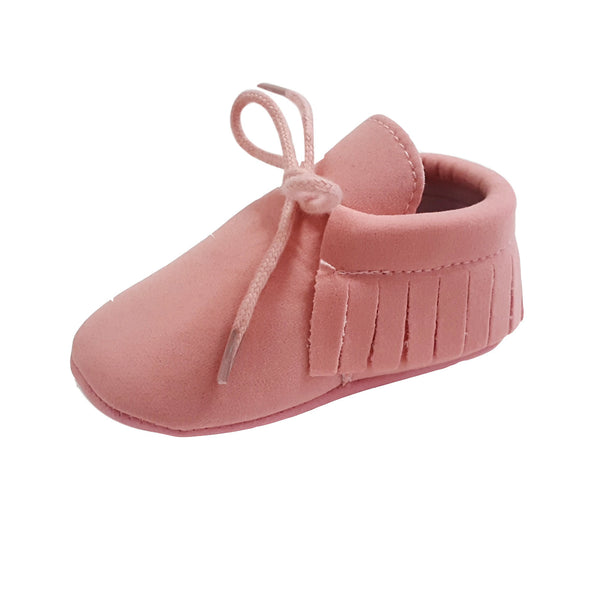 Piper (Pre-Walker Shoes) - B120 Pink Moccasin