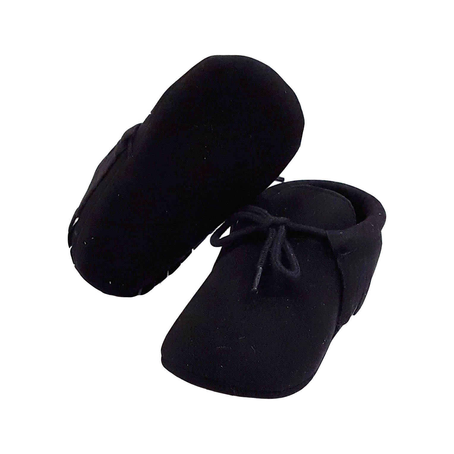 Piper (Pre-Walker Baby Shoes) - B120 Black Moccasin