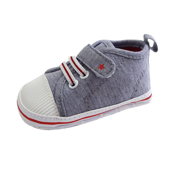 Ethan (Pre-Walker Shoes) - B122 Grey