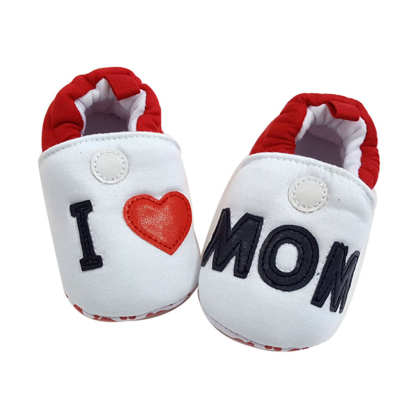Gabriella (Pre-Walker Shoes) - B137 White Mom