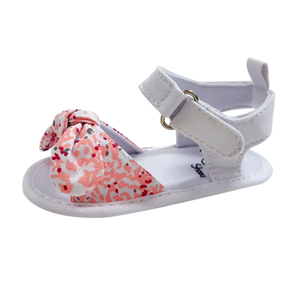 Serenity (Pre-Walker Shoes) - B143 Floral Sandal