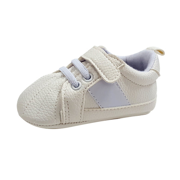 Kendrick (Pre-Walker Baby Shoes) - B145 White Sports