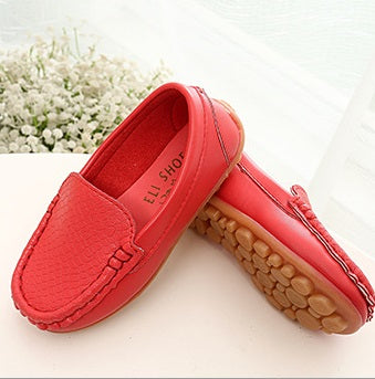 S168 Moccasin Softee Red (Limited Stocks)