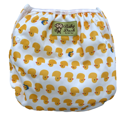 Size Adjustable Swim Diaper - Duckling