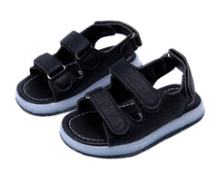 L205 Prodence Black LED Lighted Sandals