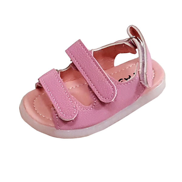 L205 Prodence Pink LED Lighted Sandals (1-4 years)
