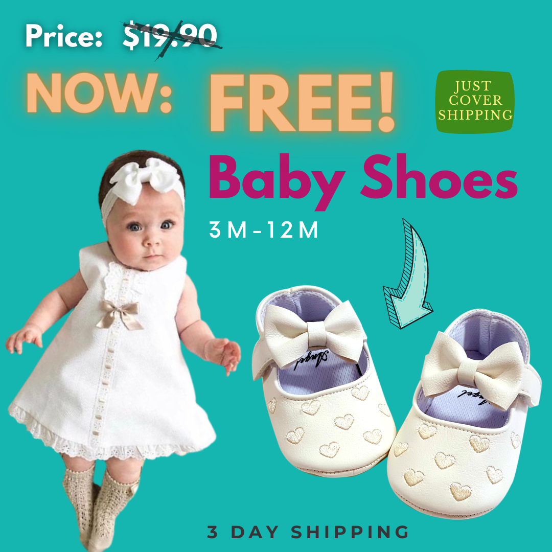 Free Pre-Walker Baby Shoes FB Offer