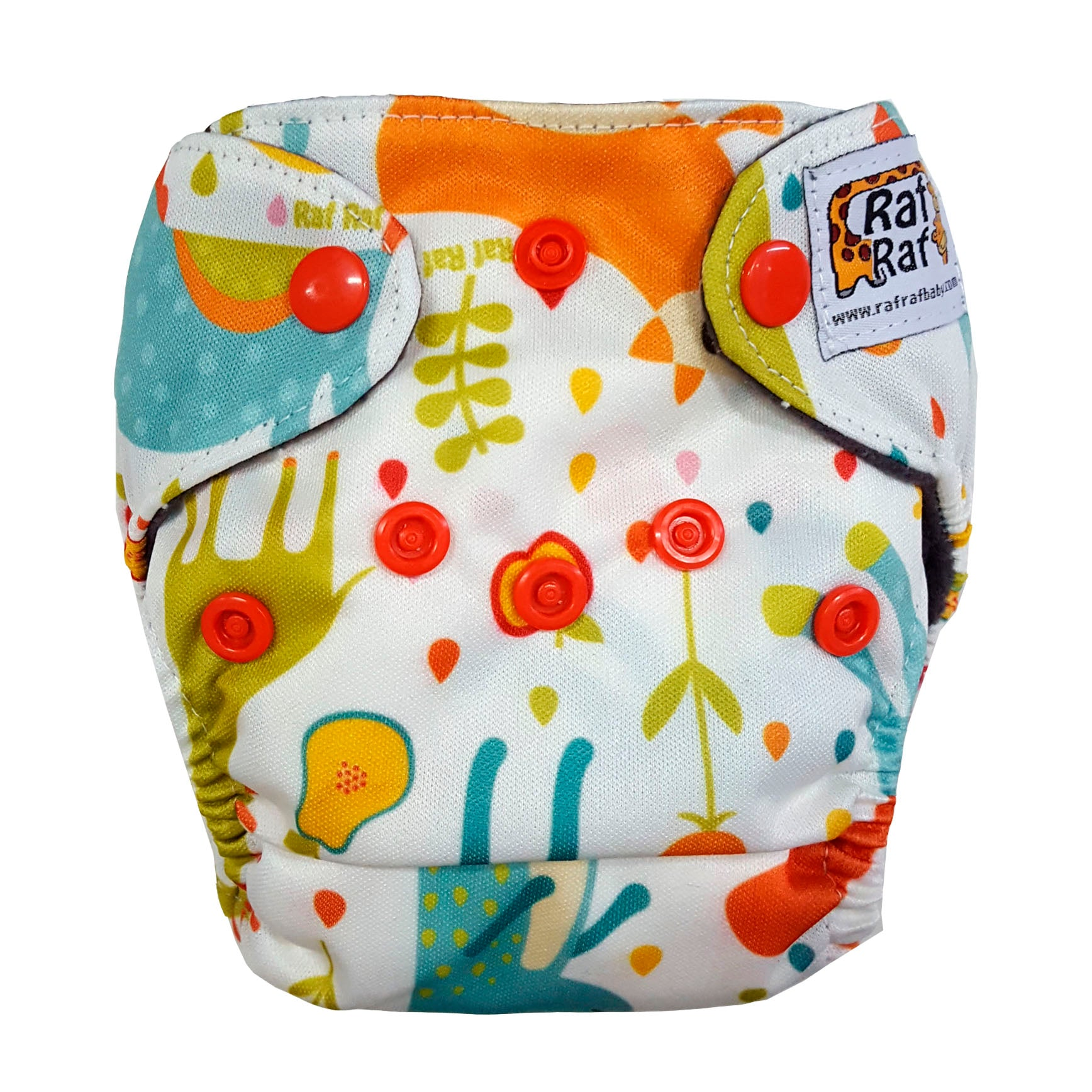 Newborn Charcoal Bamboo Cloth Diaper