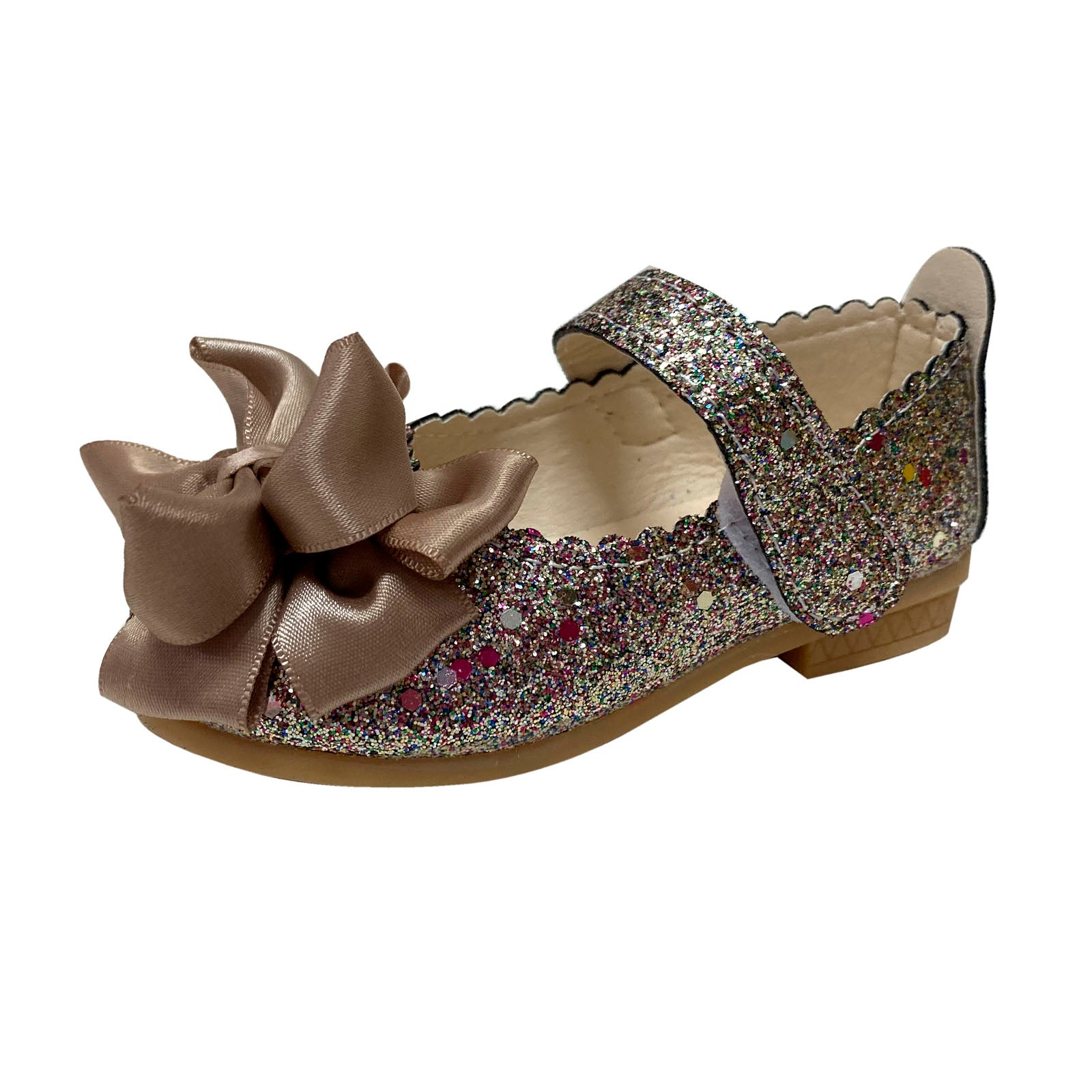 P771 Princess Glitter Gold (1-6y)
