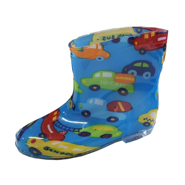 Rainboots R06 Blue Cars (2-6y)