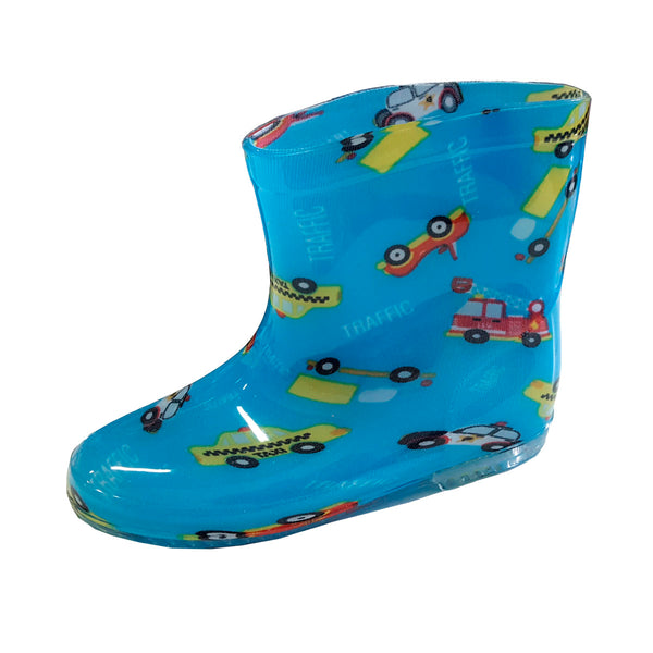 Rainboots R02 Blue (3-5y)