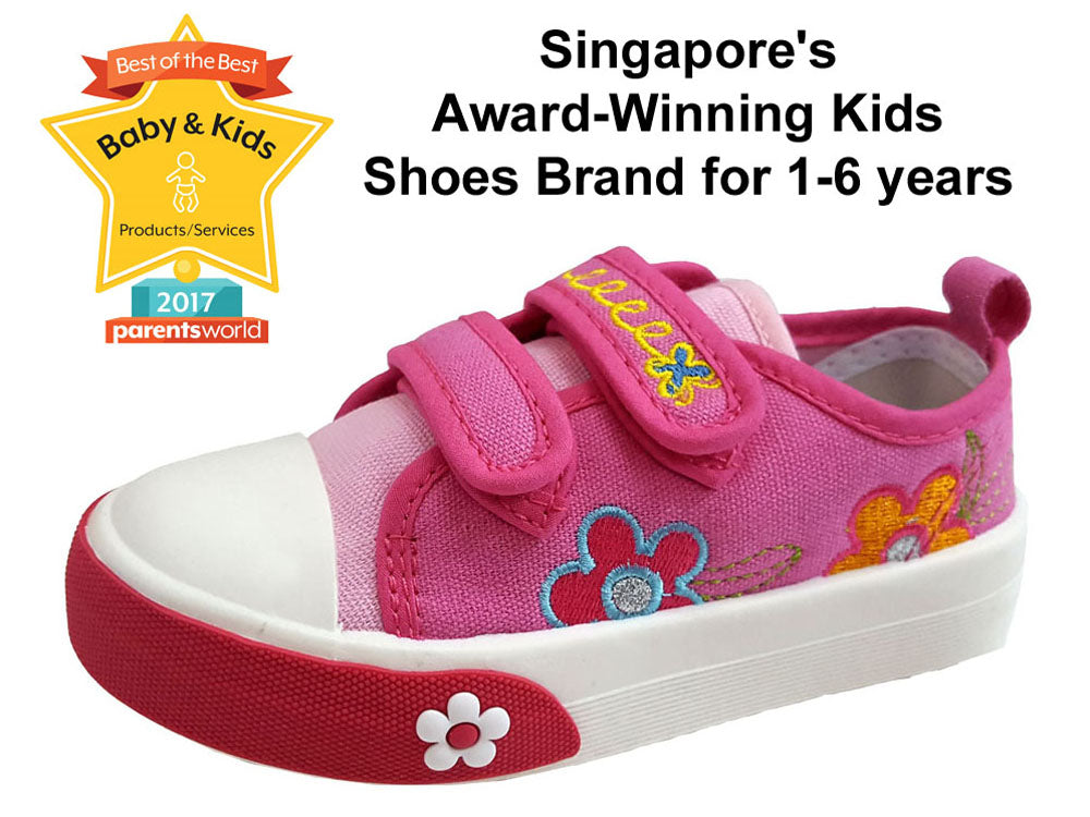 This is my 3rd, 4th, 5th order of shoes for my kids. They only want to wear Stride Rite and Raf Raf because of comfort and design. Raf Raf got superb quality, anti-slip, and easy to wash in the machine when it gets dirty. - Cindy, Singapore